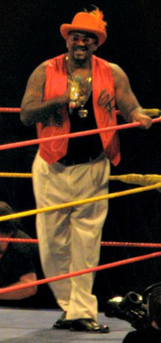 The Godfather (wrestler) - The Godfather at the Hulkamania: Let The Battle Begin tour in November 2009