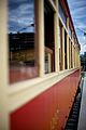 The Granville Island to Science World heritage railway uses heritage interurban streetcar 1207 -- built in 1905.jpg