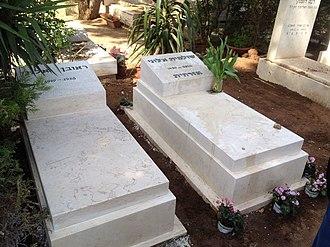 Shulamit Aloni - The Grave of Shulamit Aloni