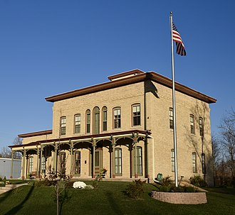 National Register of Historic Places listings in Juneau County, Wisconsin - Image: The Henry And Barbara Bierbaurer House