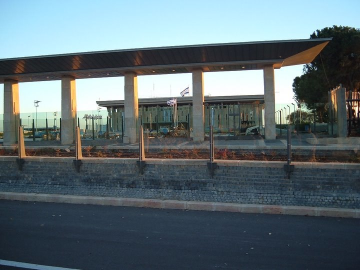 The Knesset front