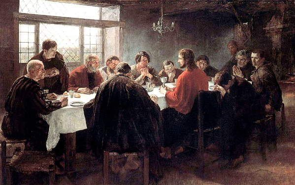 The Last Supper by Fritz von Uhde (1886) The Last Supper (1886), by Fritz von Uhde.jpg