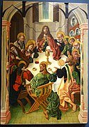 The Last Supper by Maestro Bartolomé and workshop, 1480-1488, oil on panel - University of Arizona Museum of Art - University of Arizona - Tucson, AZ - DSC08368.jpg