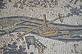 The Madaba Map, part of a floor mosaic in the early Byzantine church of Saint George depicting the Holy Land in the 6th century AD, Madaba, Jordan (34477794141).jpg