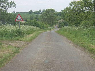 Mareham Lane - Image: The Mareham Lane ford geograph.org.uk 368085