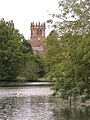 The Mere and Parish church, Ellesmere, Salop - geograph.org.uk - 1758606.jpg