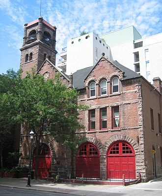 The Old Fire Hall - The Old Fire Hall in 2007