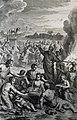 The Phillip Medhurst Picture Torah 448. Worshipping the golden calf. Exodus cap 32 v 6. Hoet.jpg