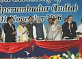 The Prime Minister, Dr. Manmohan Singh unveiling the plaque to inaugurate the Flextronics Industrial Park at Sriperumbudur in Tamil Nadu on November 04, 2006.jpg