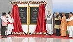 The Prime Minister, Shri Narendra Modi inaugurating the Hindon Airport Civil Terminal.JPG