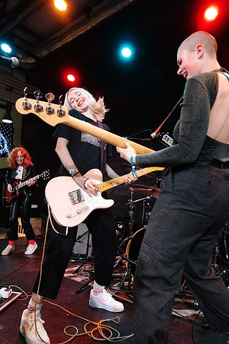 Riot grrrl - The Regrettes formed in 2015 and merge riot grrrl with elements of doo-wop