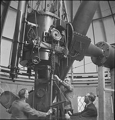 The Royal Observatory- Everyday Life at the Royal Observatory, Greenwich, London, England, UK, 1945 D24701.jpg