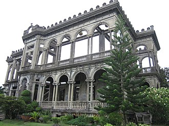 Western Visayas - Image: The Ruins Talisay Bacolod in Focus Sept 2012