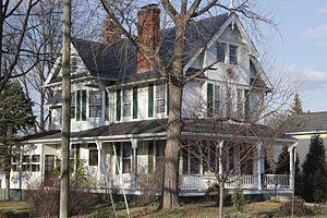 Samuel Swinfin Burdett - The Samuel S. Burdett house in Glencarlyn, Arlington, Virginia.