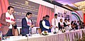 The Union Minister for Electronics & Information Technology and Law & Justice, Shri Ravi Shankar Prasad launching the Digital North East - 2022, at Guwahati.JPG