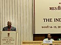 The Union Minister for Labour and Employment, Shri Mallikarjun Kharge addressing the 44th session of Indian Labour Conference, in New Delhi on February 14, 2012.jpg