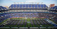 The United States Corps of Cadets stands on the field at M&T Bank Stadium.jpg