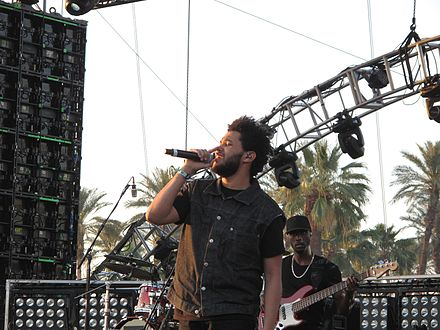 Tesfaye performing at Coachella in 2012. The Weeknd by David Hwang.jpg
