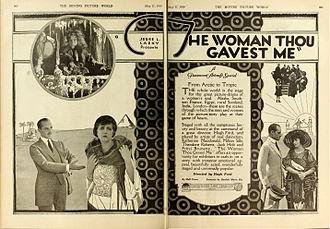 Hugh Ford (director) - Advertisement (1919)