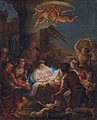 The adoration of the shepherds, by Marco Benefial.jpg