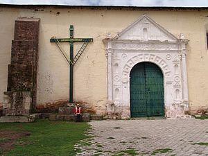 Chucuito - Image: The church in Chucuito