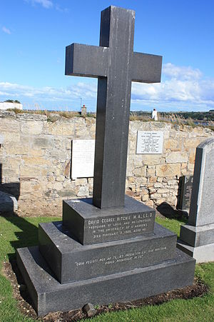 David George Ritchie - The grave of Prof David George Ritchie, Eastern Cemetery, St Andrews
