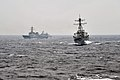 The guided missile destroyer USS Fitzgerald (DDG 62), right, conducts tactical maneuvers with South Korean navy ships in the Sea of Japan March 13, 2013, during exercise Foal Eagle 2013 130313-N-BX824-322.jpg
