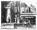 The interior and exterior of a working brewhouse. Engraving, Wellcome L0020218.jpg