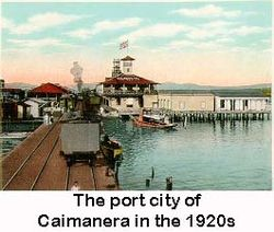 The port city of Caimanera in the 1920s.jpg