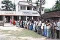 The voters with their EPICs standing in a long queue to cast their vote in West Bengal Assembly Election, at a polling booth, in North 24 Paraganas, Kolkata on April 27, 2011.jpg