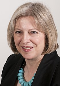 Theresa May - Home Secretary and minister for women and equality.jpg
