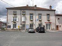 Thiaville-sur-Meurthe (M-et-M) mairie et salle Poirel.jpg