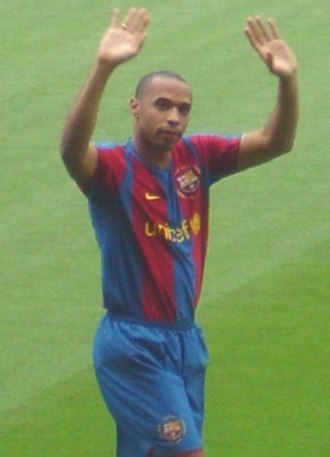 2007–08 Arsenal F.C. season - Striker Thierry Henry moved to Barcelona in June 2007