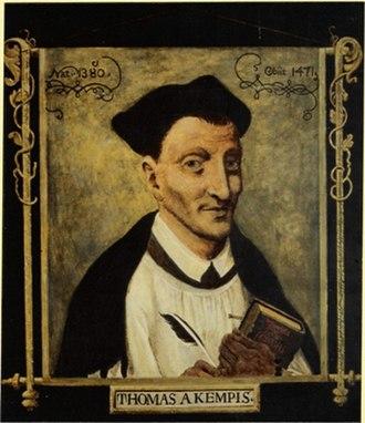 Thomas à Kempis - Image: Thomas von Kempen JS