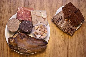 Culture of Iceland - A typical Þorramatur assortment.
