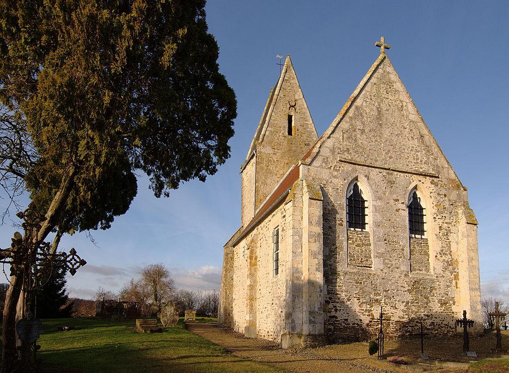 L'église Saint-Bénin à Thury-Harcourt
