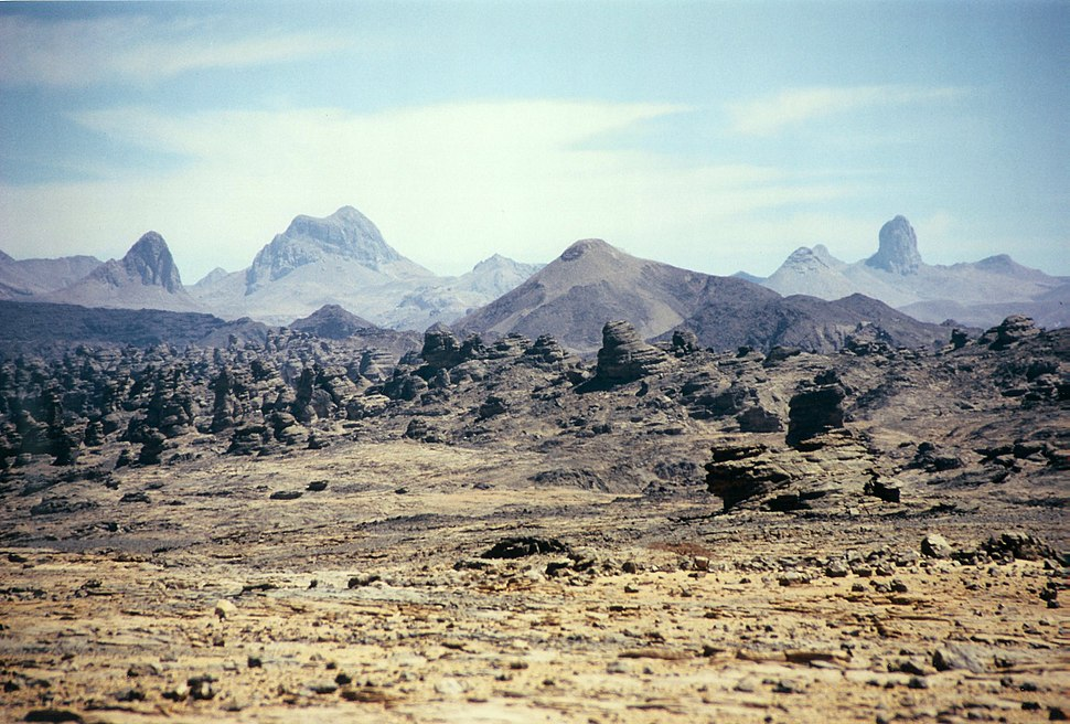 Tibesti east of bardai