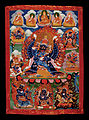 Tibet - Section of Yamantaka Thanka (memorial) - Google Art Project.jpg