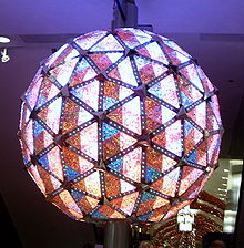 Times Square Ball - Wikipedia, the free encyclopedia