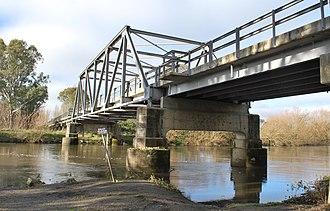 Tintaldra - Image: Tintaldra Bridge 004