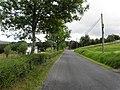 Tirnawannagh townland, Corlough parish, County Cavan, Republic of Ireland. Heading ESE.jpg