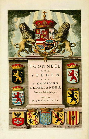 Titelblad Toonneel 's Konings Nederlanden kl