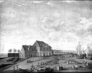 Nordre Toldbod - King Christian VI's Custom House in 1754