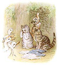 Tom Kitten ducks