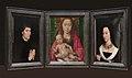 Tommaso di Folco Portinari (1428–1501); Maria Portinari (Maria Maddalena Baroncelli, born 1456) MET LC-14 40 626 27 Recon.jpg