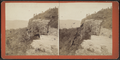Top of the Overlook Cliff, looking west, by D. J. Auchmoody.png