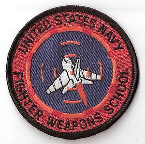 United States Navy Strike Fighter Tactics Instructor program - The patch awarded to NFWS graduates