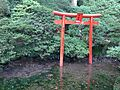 Torii of Benzaiten Shrine in Chigirien Garden in Daikozenji Temple.JPG