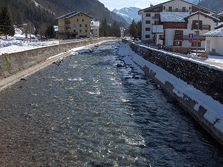 Der Lys in Gressoney-Saint-Jean