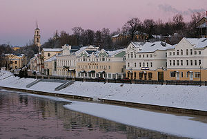 Torzhok - Tvertsa Embankment